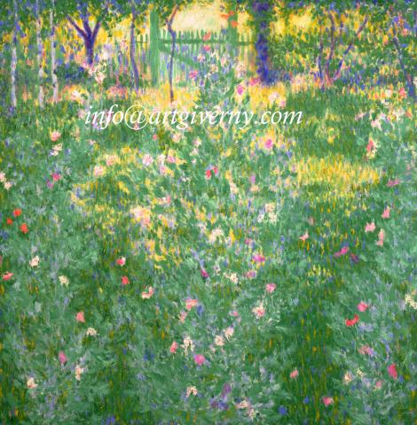 Theodore-Earl_Butler-Giverny_Jardin_fleurs_impressionite_Claude_Monet
