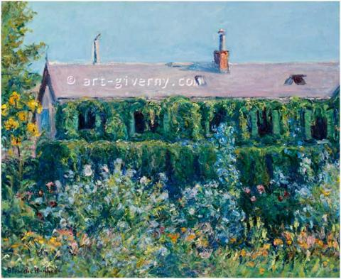 House of Claude Monet and Garden - BLANCHE HOSCHEDÉ-MONET