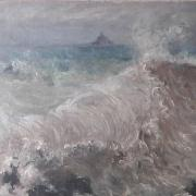 Mont Saint Michel - Mary Louise Fairchild Female Impressionst Normandy Giverny Claude Monet